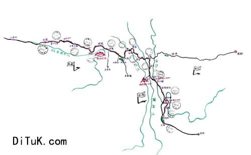 而且如今手绘地图非常受旅游爱好者的欢迎,黑白质朴的装饰线描,带给人