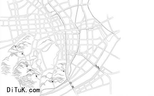 手绘地图制作