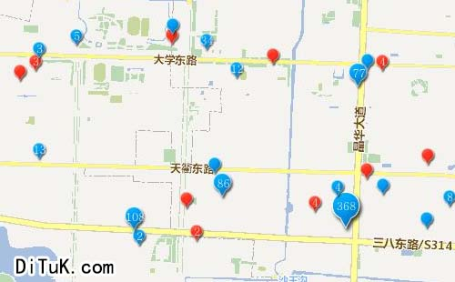 企业电子地图制作