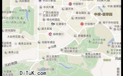 客户分布地图制作