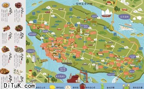 餐饮信息地图案例